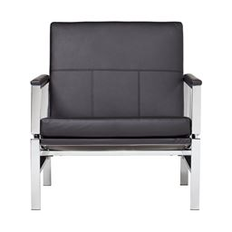 Studio Designs Atlas Chair Black Bonded Leather
