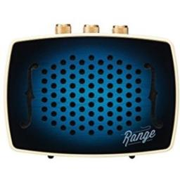 Bem, Range Strum Series, Bluetooth Speaker, Tuned for Country Music with Volume, Bass and Treble Knobs, AC Adapter Included - Blue