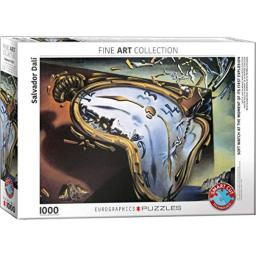 EuroGraphics Soft Watch At Moment of First Explosion (Melting Clock) by Salvador Dali 1000 Piece Puzzle