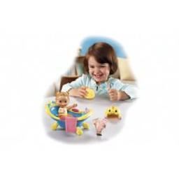 Fisher-Price Snap 'n Style Babies - Bathtime for Kira
