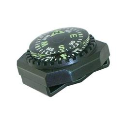 Sun Company Slip-On Wrist Compass - Easy-to-Read Compass for Watch Band