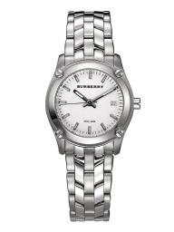 Burberry BU1853 Heritage 32MM Women's Check Stainless Steel Watch