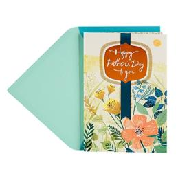 DaySpring Religious Father's Day Card (May the Lord Bless You, Wildflowers)