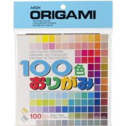 "Origami Paper 5.875""X5.875"" 100 Sheets Assorted Colors"