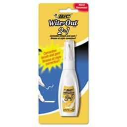 BICWOPFP11 - Wite-Out 2 in 1 Correction Fluid