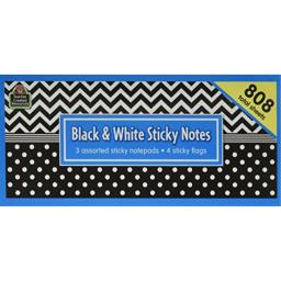 Teacher Created Resources Black & White Sticky Notes (5834)