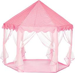 Ejoy Ejoy Kids Indooroutdoor Play Fairy Princess Castle Tent, Portable Fun Perfect Hexagon Large Playhouse Toys For Girlschildrentoddlers Gift Room, Xlarge, Pink