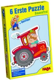 HABA Little Hand Puzzles - Farm Board Game