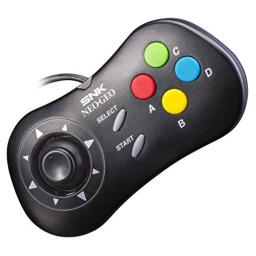 NEOGEO Mini PAD Wired Controller - Black