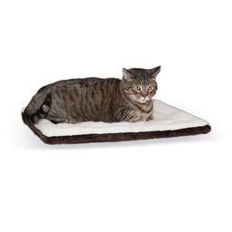 "K&H Pet Products Self-warming Pet Pad - 4""H - Oatmeal/Chocolate"