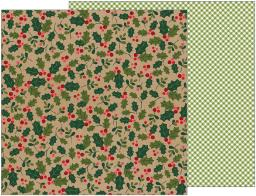 "Merry Merry Double-Sided Cardstock 12""X12""-Holly Berries PBMM12-33552"