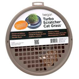 Bergan 88341 Brown Bergan Turbo Cat Grass Brown 10 X 10 X 1