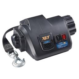 Fulton xlt 7.0 powered marine winch w/ remote f/ boats up to