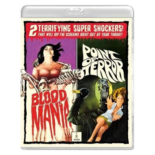 Blood mania/point of terror (blu ray/dvd combo) (limited edition/3disc) XTUY2EHPAKKGY9BK