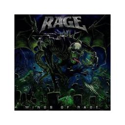 Rage wings of rage compact discs