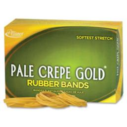 Alliance Rubber ALL20545 Pale Crepe Gold No. 54 Rubber Bands