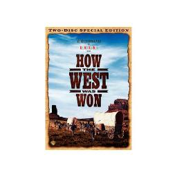 HOW THE WEST WAS WON (DVD/SPECIAL EDITION/3 DISC) 12569799714