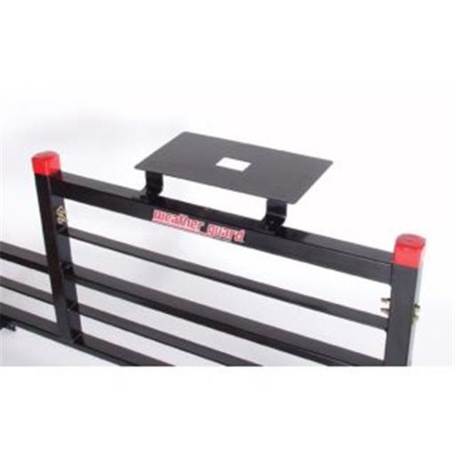 Weather Guard WEA1920 Cab Protector Ladder Mount, Rectangular Base, Black