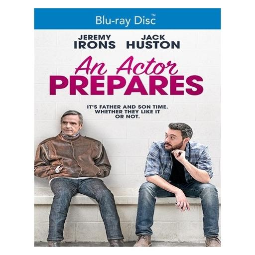 Actor prepares an (blu-ray/2018)