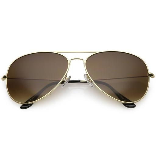 f4f6ff7bd Large Oversize Aviator Sunglasses Metal Frame Gradient Lens 60mm. by  sunglassLA