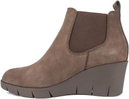 Cliffs by White Mountain Women's Shoes Percy Leather Closed Toe Ankle Chelsea...