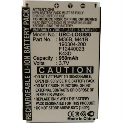 Ultralast Replacement BATTERY for Harmony 880 Remote