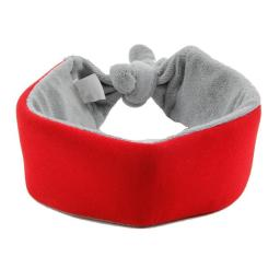 Pet Life PTCL2RD Neo Breeze Flexible Terry Neoprene Dog Neck Wrap, Red - One Size