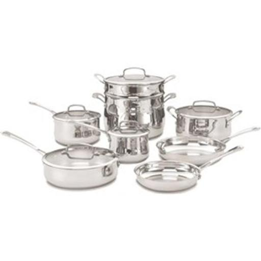 /Waring 44-13 13 Piece Stainless Steel Cookware Set