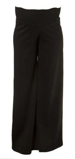 OLIAN Maternity Women's Palazzo Pull On Style Pants Sz Small Black
