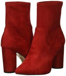 BCBGeneration Women's Ally Fashion Boot, Rich Red, 6.5 M US