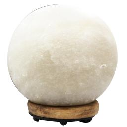 Evolution Salt Company - Natural Himalayan Crystal Salt Lamp Sphere White