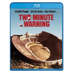 Two minute warning (blu ray) (ws) BRSF16737