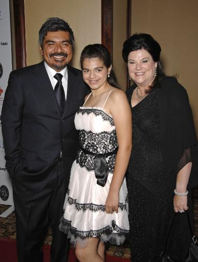 George Lopez, Mayan Lopez, Ann Lopez At Arrivals For 29Th Annual The Gift Of Life Gala, Century Plaza Hotel, Los Angeles, Ca, May 18, 2008. Photo.