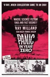 Panic In Year Zero! Us Poster Art Bottom Center: Jean Hagen Left: Frankie Avalon Ray Milland 1962. Movie Poster Masterprint EVCMMDPAINEC007HLARGE