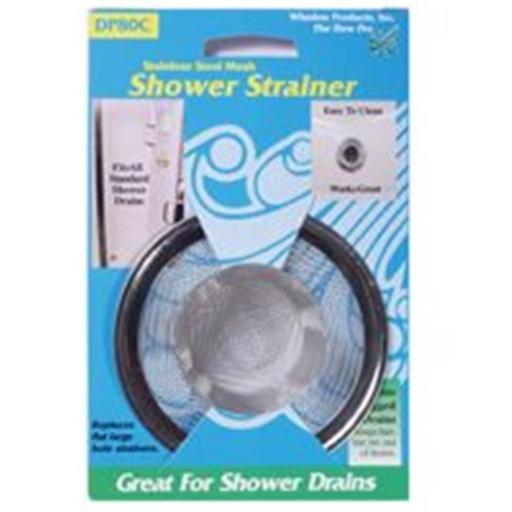 Whedon Products DP80C Stainless Steel Mesh Shower Stall Strainer