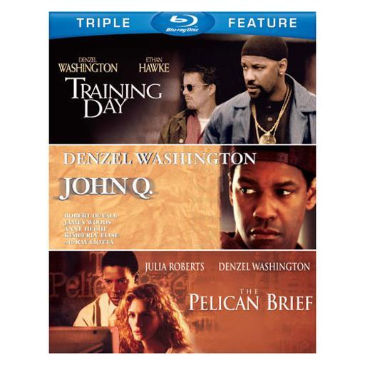John q/pelican brief/training day (blu-ray/tfe) 2KCVU4QXEIF3H55L