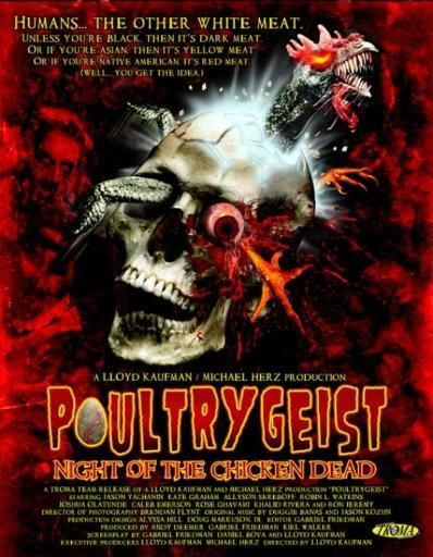 Poultrygeist Night of the Chicken Dead Movie Poster (11 x 17) A9WFDUV13D0V4VZN