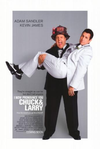 I Now Pronounce You Chuck and Larry Movie Poster Print (27 x 40) GOYI7C5HOJG0F15N
