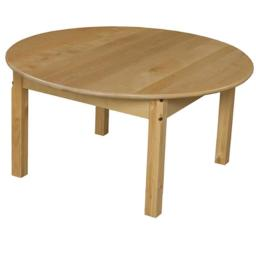 Wood Designs 83616 36 in. Round Hardwood Table With 16 in. Legs