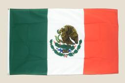 Mexico 3x5 Flag Green White Red Polyester 2 Brass Grommets Mexican Country