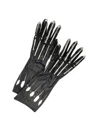Men's Deluxe Black Panther Gloves/Claws 38058NS