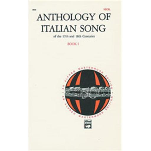 Alfred 00-3525 Anthology of Italian Songs of the 17th and 18th Centuries- Book 1 - Music Book