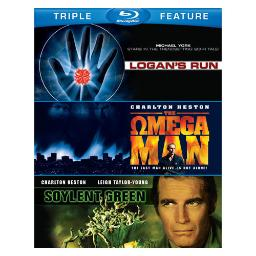 Sci-fi-tfe (blu-ray/soylent green/logans run/omegan man) BR436112