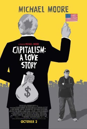 Capitalism A Love Story Movie Poster (11 x 17) WPPX5M5CPUXTHRJ3