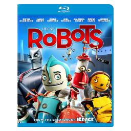 Robots (blu-ray/ws-1.78/eng-fr-sp sub/re-pkgd) BR2288602