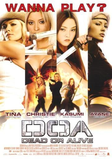 DOA Dead or Alive Movie Poster (11 x 17) L7BYPHRGRV7P3N11