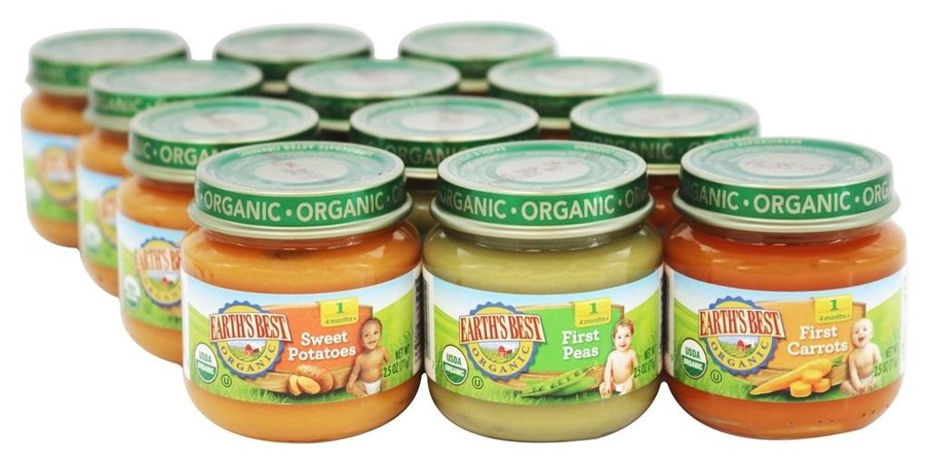 Earth's Best Organic My First Veggies Starter Pack Baby Food - Case of 1 - 2.5 oz.