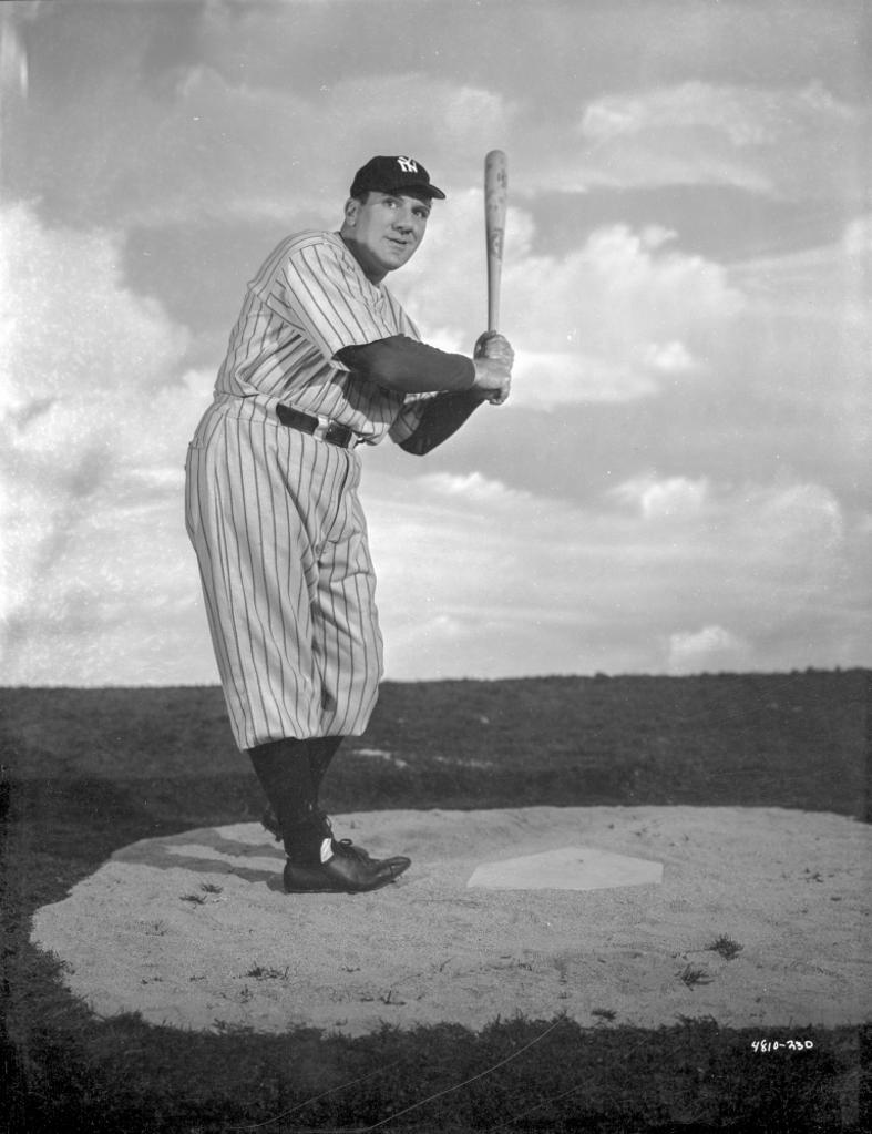A Publicity Still For the Babe Ruth Story Photo Print