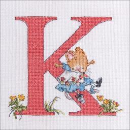 "Seraphina Counted Cross Stitch Kit 4.75""x6""-k"