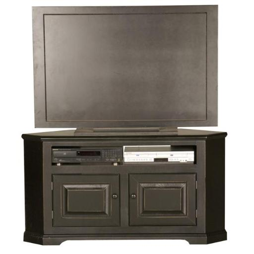 Eagle Furniture 92739WPAS 50 in. Savannah Corner Entertainment Console, Autumn Sage